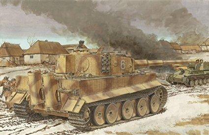 1/35 WW.II ドイツ軍 ティーガーI 中期生産型 w/ツィメリットコーティング サイバーホビー
