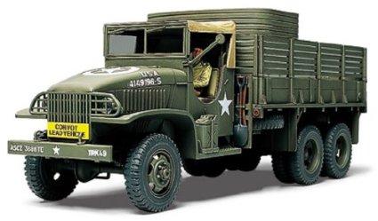 1/48 ミリタリーミニチュアシリーズ No.48 アメリカ 2 1/2トン 6×6 カーゴトラック タミヤ