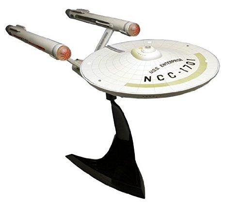 スタートレック TOS 宇宙大作戦 U.S.S.エンタープライズNCC-1701 (塗装済み完成品) プラッツ