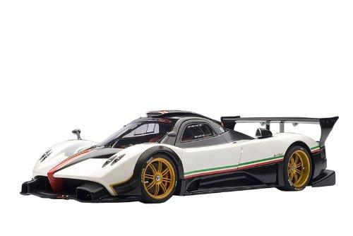 AUTOart 1/18 パガーニ ゾンダ R (ホワイト/イタリアン・ストライプ) オートアート