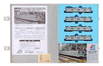 Nゲージ A0939 203系-100番台・増結4両セット マイクロエース