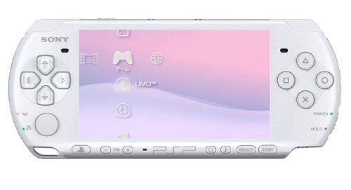 PSP「プレイステーション・ポータブル」 パール・ホワイト(PSP-3000PW)【メーカー生産終了】 ソニー・インタラクティブエンタテインメント 新品