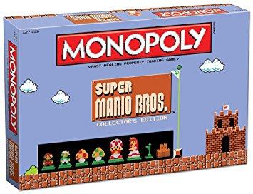 モノポリー マリオ USAopoly Monopoly: Super Mario Bros Collector's Edition Board Game 新品