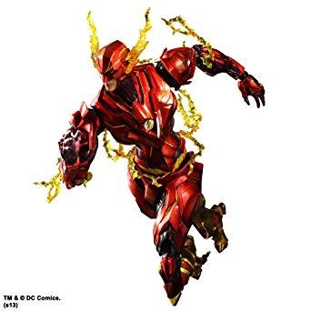 DC Comics VARIANT PLAY ARTS改 フラッシュ(PVC塗装済みアクションフィギュア) スクウェア・エニックス 新品