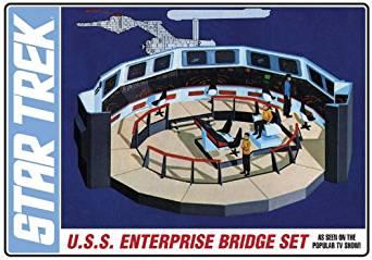 プラッツ 1/32 スタートレック 宇宙大作戦 U.S.S エンタープライズ ブリッジセット プラモデル 新品