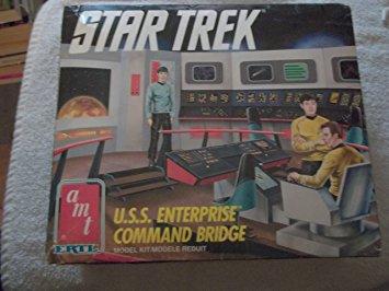 Star Trek USS Enterprise Command Bridge kit / スタートレック USSエンタープライズ コマンドブリッジ キット amt 新品