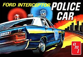 amt 1/25 1970 フォード・ギャラクシーインターセプター・ポリスカー 新品