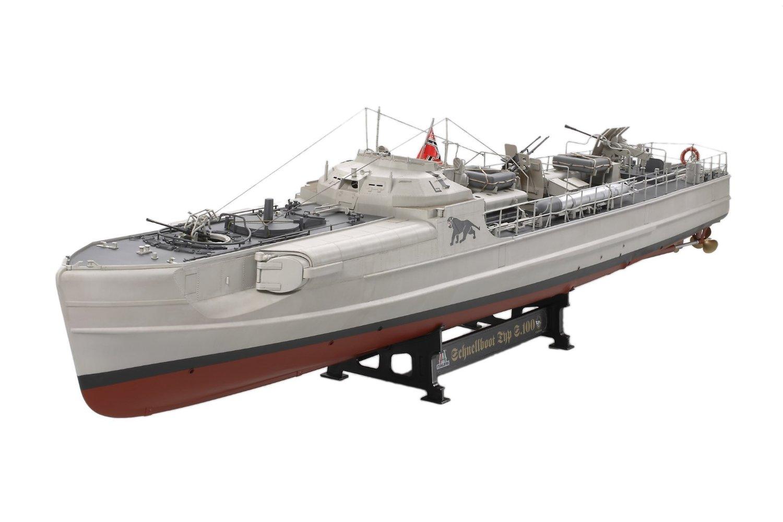 イタレリ 1/35 シップシリーズ 1/35 ドイツ海軍魚雷艇 S100 シュネルボート タミヤ
