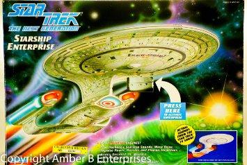 Star Trek The Next Generation Starship Enterprise スタートレック ザ・ネクスト・ジェネレーション エンタープライズ PlayMates