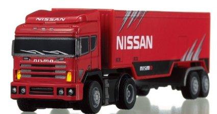 1/86 リアルドライブ nano トレーラー NISINO トランスポーター シー・シー・ピー