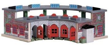 ラーニングカーブ きかんしゃトーマス 木製レール デラックス操車場 99370 RC2