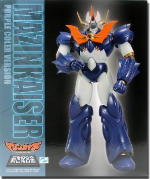 Mazinger SG-12 Mazinkaiser Purple Version Die-Cast Figure ミラクルハウス