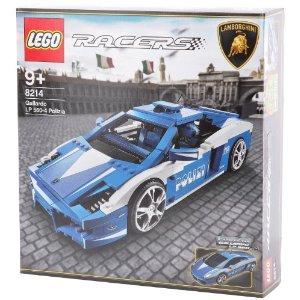 レゴ レーサー ランボルギーニ・ガヤルド LP560-4 ポリツィア 8214