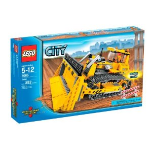 レゴ LEGO シティ 工事 ブルドーザ 7685【並行輸入品】