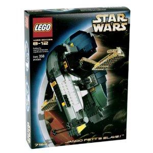 レゴブロック 7153 スターウォーズ ジェンゴフェットのスレーブI ( LEGO Star Wars Jango Fett's Slave)