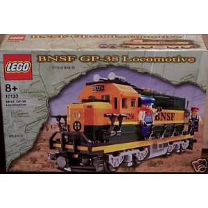 レゴ トレイン LEGO 10133 Burlington Northern Santa Fe (BNSF) GP-38 Locomotive 並行輸入品
