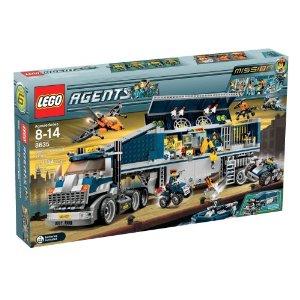 大きなトラックにはスパイ機能がたくさん LEGO 新作 大人気 8635 Mission 6: Mobile Center エージェント お値打ち価格で コマンドセンター Command レゴ