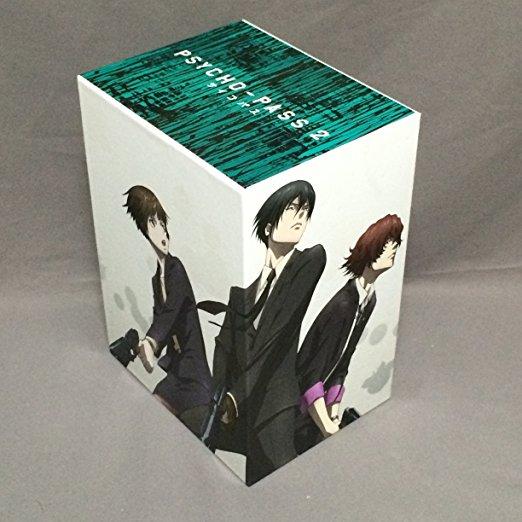 PSYCHO-PASS サイコパス2 (アニメイト特典 収納BOX付き) (初回限定盤)全5巻 Blu-rayセット(中古)マルチレンズクリーナー付き