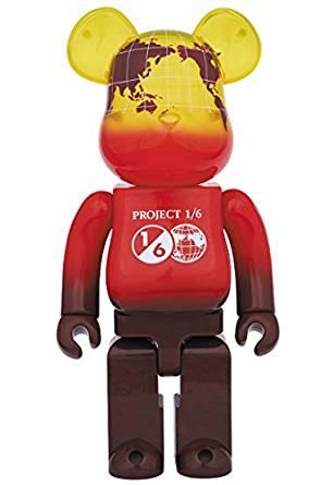 BE@RBRICK EARTH VOLCANO RED 400% メディコム・トイ 新品