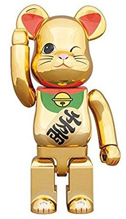 東京ソラマチ限定 BE@RBRICK 招き猫 金メッキ四 400% メディコム・トイ 新品