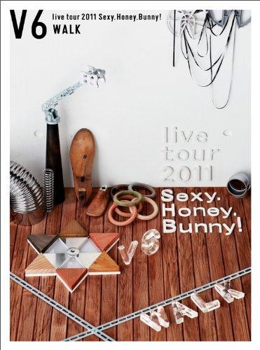 V6 live tour 2011 Sexy.Honey.Bunny!(WALK盤)(初回生産限定)[DVD] 新品 マルチレンズクリーナー付き