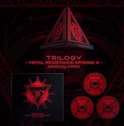 TRILOGY - METAL RESISTANCE EPISODE III - APOCALYPSE Blu-ray 新品 マルチレンズクリーナー付き