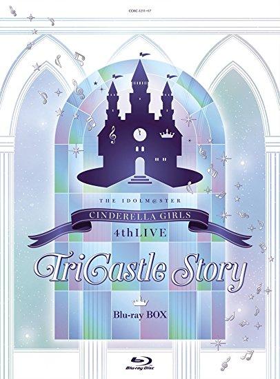 THE IDOLM@STER CINDERELLA GIRLS 4thLIVE TriCastle Story ララビット特装版-公式コンサートライト(4thLIVE ゲストアイドルver.)4本付き- Blu-ray 新品 マルチレンズクリーナー付き