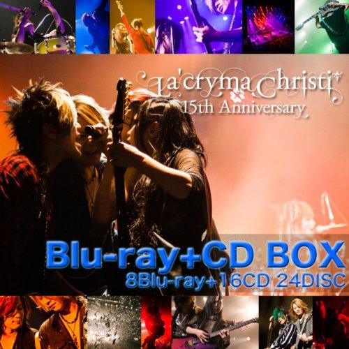 La'cryma Christi 15th Anniversary Live -Special Blu-ray+CD BOX- (中古)マルチレンズクリーナー付き