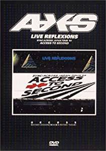 LIVE REFLEXIONS-ACCESS TO SECOND- [DVD] access 新品 マルチレンズクリーナー付き