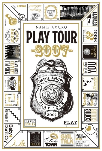 namie amuro PLAY tour 2007 (限定スペシャルプライス盤) (数量生産限定盤) [DVD] 安室奈美恵 新品 マルチレンズクリーナー付き