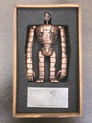 ジブリ美術館限定 天空の城ラピュタ 屋上ロボット兵[ピューターメタル] 新品