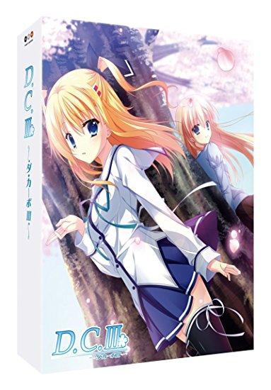 TVアニメ「D.C.III~ダ・カーポIII~」 Blu-ray Disc BOX(完全初回限定生産商品)(中古)マルチレンズクリーナー付き