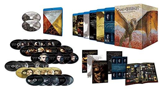 ゲーム・オブ・スローンズ 第一章~第六章ブルーレイ・ボックス (初回限定生産/30枚組+ボーナス・ディスク4枚付) [Blu-ray]新品 マルチレンズクリーナー付き