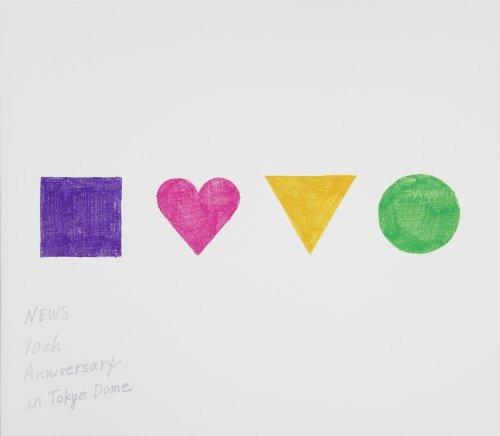 NEWS 10th Anniversary in Tokyo Dome【Blu-ray】(初回仕様)新品 マルチレンズクリーナー付き