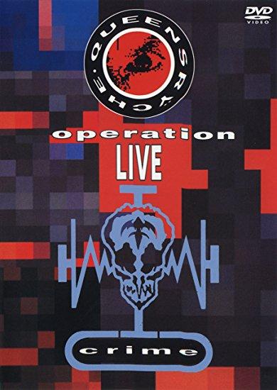 オペレーション:ライヴクライム [DVD]クイーンズライチ 新品 マルチレンズクリーナー付き