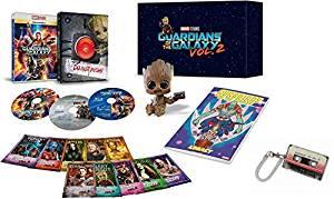 【Amazon.co.jp限定】ガーディアンズ・オブ・ギャラクシー:リミックス MovieNEXプレミアムBOX [ブルーレイ3D+ブルーレイ+DVD+デジタルコピー(クラウド対応)+MovieNEXワールド] 薄型ICカードケース付 [Blu-ray]新品 マルチレンズクリーナー付き