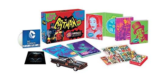 【Amazon.co.jp限定】バットマン コンプリートTVシリーズ Blu-rayコレクター ズBOX DCコミックス プレミアムDVD付き(13枚組)新品 マルチレンズクリーナー付き