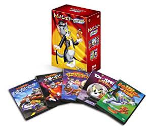 【初回限定生産】トムとジェリー ムービー BOX (5枚組) [DVD]新品 マルチレンズクリーナー付き