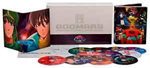 【Amazon.co.jp限定】30th Anniversary 六神合体ゴッドマーズ SUPER COMPLETE BOX<ファンクラブ限定キーホルダー付き>(600個完全数量限定) [Blu-ray](中古)マルチレンズクリーナー付き