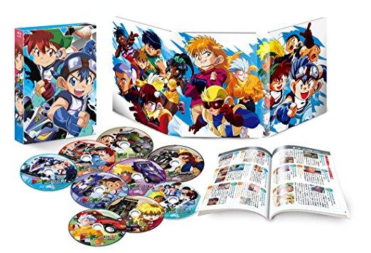 爆走兄弟レッツ&ゴー! ! WGP Blu-ray BOX 新品 マルチレンズクリーナー付き