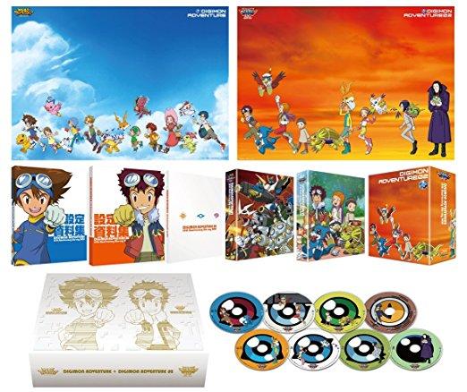 デジモンアドベンチャー02 15th Anniversary Blu-ray BOX ジョグレスエディション(完全初回生産限定版)(中古)マルチレンズクリーナー付き