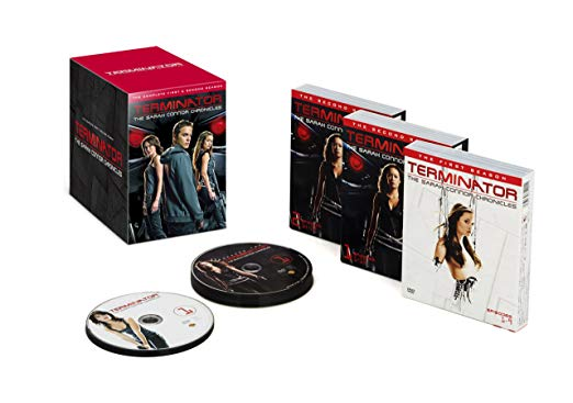 ターミネーター:サラ・コナー クロニクルズ 〈シーズン1-2〉コンプリートDVD BOX Soft Shell(初回限定生産/16枚組)新品 マルチレンズクリーナー付き