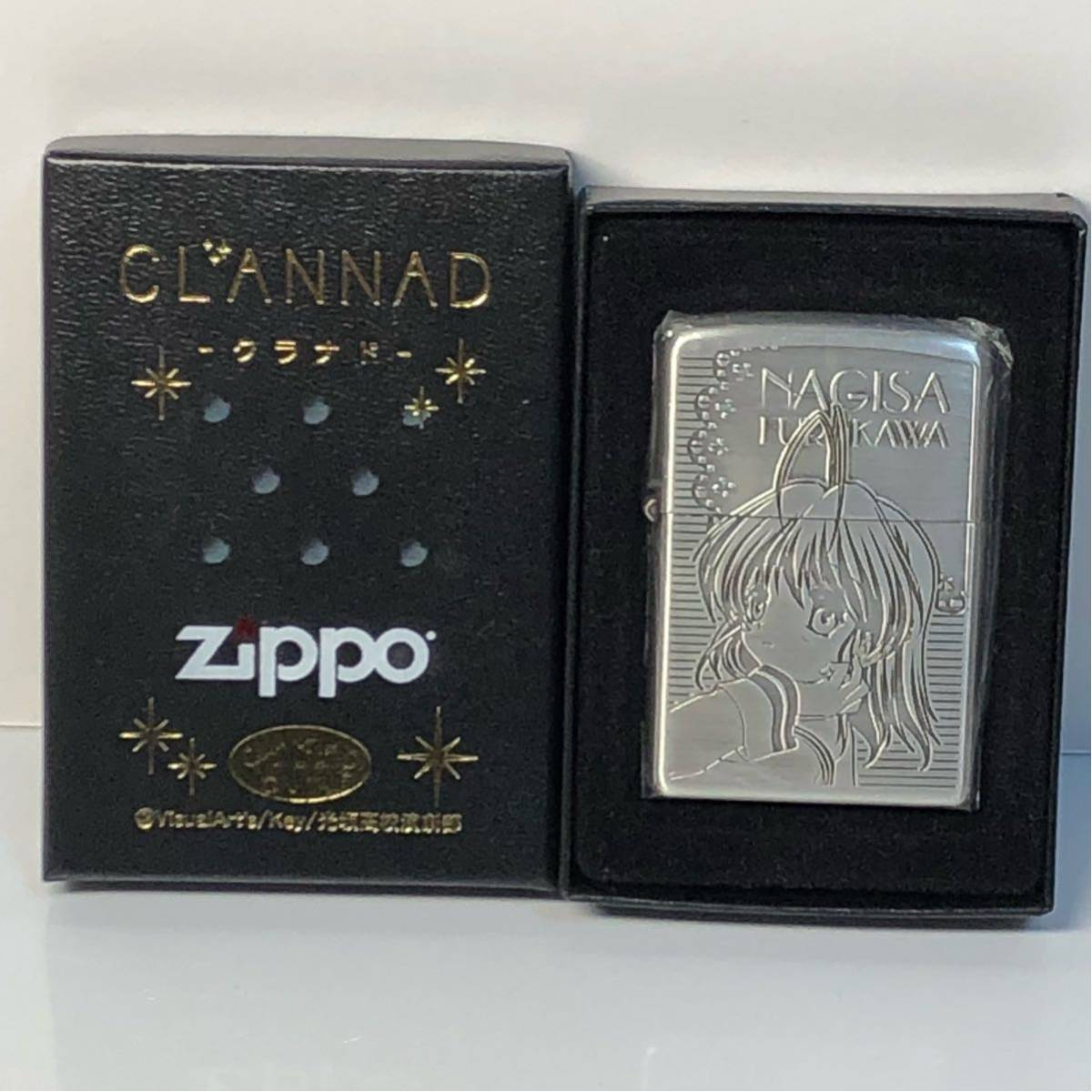 CLANNAD ON TV 古河渚 ZIPPO 新品