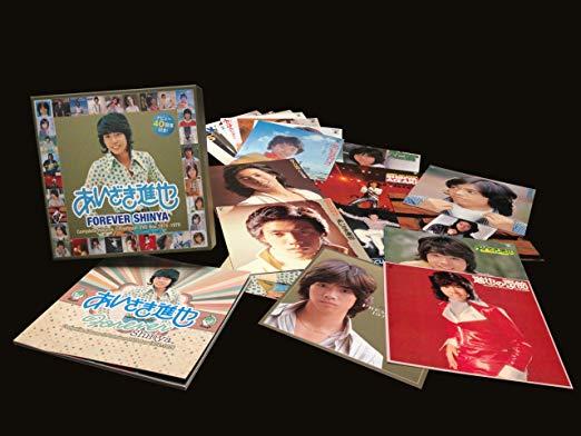 FOREVER SHINYA~コンプリート・アルバムズ&プレミアムDVD BOX 1974-1979[10CD+1DVD BOX]あいざき進也 (中古)マルチレンズクリーナー付き