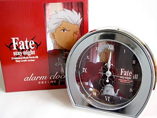 Fate/stay night【Unlimited Blade Works】展 イベント記念商品 目覚まし時計 アーチャー 新品
