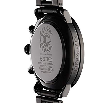 ANIPLEX+ 限定 SEIKO × FateGrand Order オリジナルサーヴァントウォッチ マシュキリエライト モデル ウォッチスタンド付 アニプレックス 新品