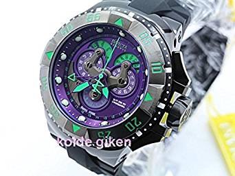 エヴァンゲリオン 初号機カラー クロノグラフ インビクタ 腕時計 EVA ムービック 新品