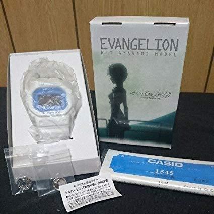 エヴァンゲリオン G-SHOCK DW-5600 綾波 レイ モデル 腕時計 NERV EVA 0号機 1.0 CASIO コラボ ガイナックス 序 新品