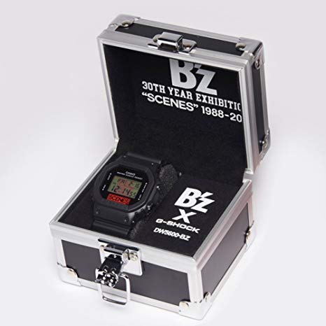 B'z G-SHOCK DW-5600 LIMITED MODEL 30th Year Exhibition SCENES ブラック 新品