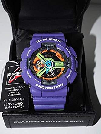 G-SHOCK エヴァンゲリオン 時計 コラボ GA-110EV 初号機 パープル 未使用品